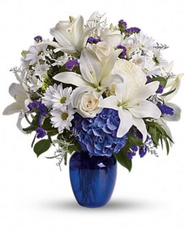 Image of Flowers or flower product titled Beautiful In Blue