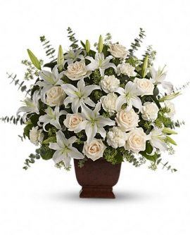 Image of Flowers or flower product titled Loving Lilies and Roses Bouquet