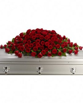 Image of Flowers or flower product titled Greatest Love Casket Spray