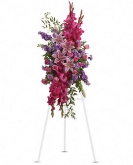 Image of Flowers or flower product titled Touching Tribute Spray