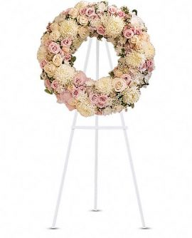 Image of Flowers or flower product titled Peace Eternal Wreath