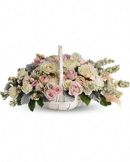 Image of Flowers or flower product titled Dawn of Remembrance Basket