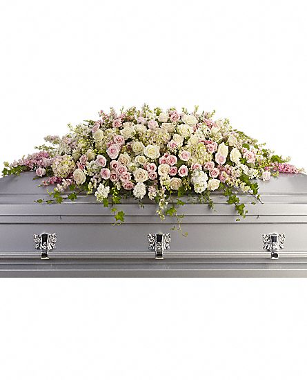 Image of Flowers or flower product titled Always Adored Casket Spray