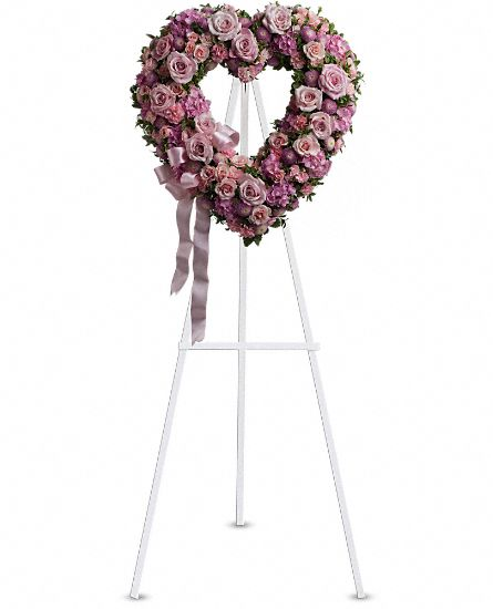 Image of Flowers or flower product titled Rose Garden Heart