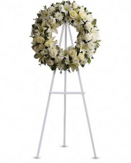 Image of Flowers or flower product titled Serenity Wreath