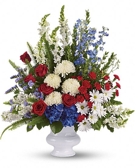Image of Flowers or flower product titled With Distinction