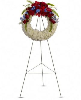 Image of Flowers or flower product titled Reflections of Glory Wreath