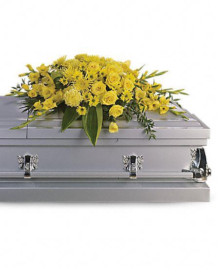 Image of Flowers or flower product titled Graceful Grandeur Casket Spray
