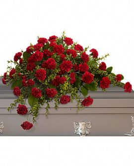 Image of Flowers or flower product titled Adoration Casket Spray