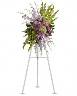 Image of Flowers or flower product titled Heavenly Sentiments Spray