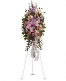 Image of Flowers or flower product titled Finest Farewell Spray