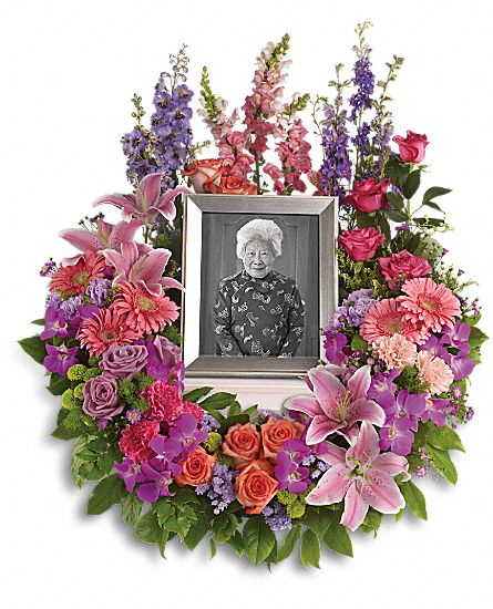 Image of Flowers or flower product titled In Memoriam Wreath
