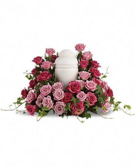 Image of Flowers or flower product titled Bed of Pink Roses