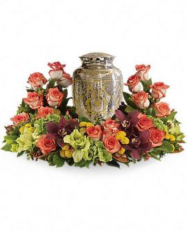 Image of Flowers or flower product titled Sunset Wreath