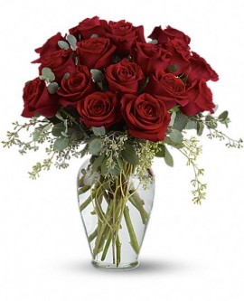 Full Heart – 16 Premium Red Roses