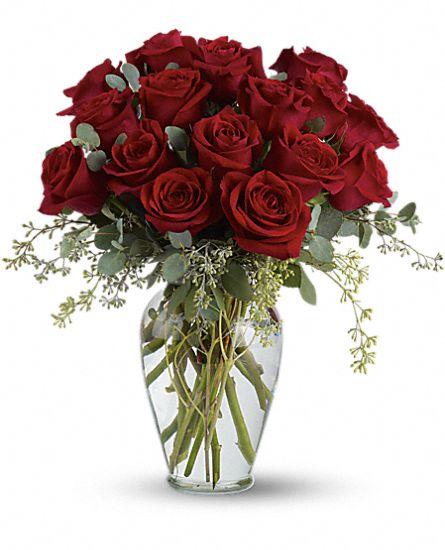 Full Heart – 16 Premium Red Roses