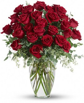 Forever Beloved – 30 Long Stemmed Red Roses