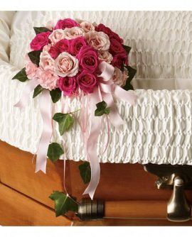 Image of Flowers or flower product titled Rose Reflection Casket Insert