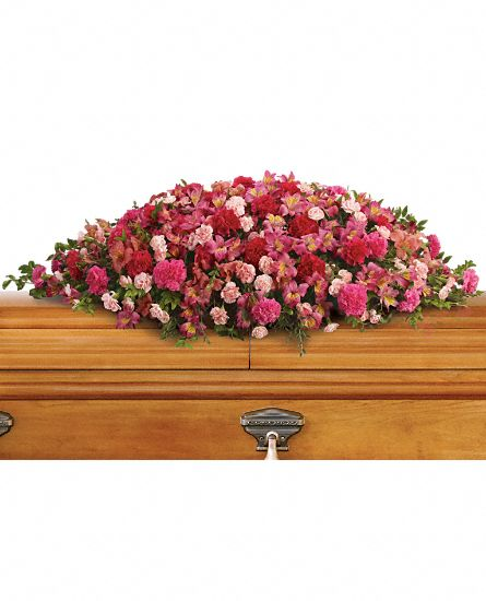 Image of Flowers or flower product titled A Life Loved Casket Spray