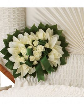 Image of Flowers or flower product titled Pure Faith Pillow