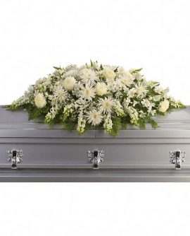 Image of Flowers or flower product titled Enduring Light Casket Spray