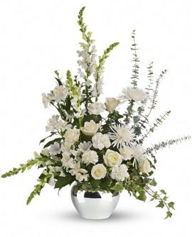 Image of Flowers or flower product titled Serene Reflections Bouquet