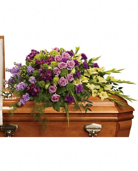 Image of Flowers or flower product titled Reflections of Gratitude Casket Spray