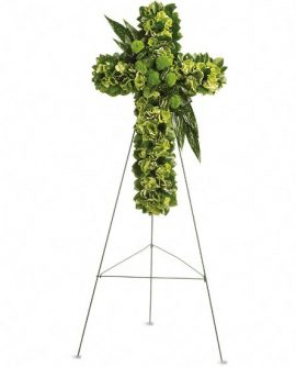 Image of Flowers or flower product titled Garden Cross
