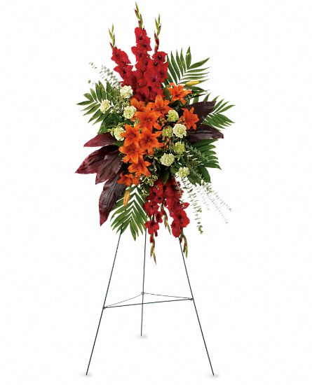 Image of Flowers or flower product titled A New Sunrise Spray