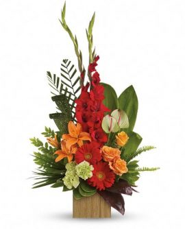 Image of Flowers or flower product titled Heart's Companion Bouquet