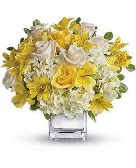 Image of Flowers or flower product titled Sweetest Sunrise Bouquet
