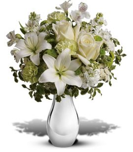 Image of Flowers or flower product titled Silver Reflections Bouquet