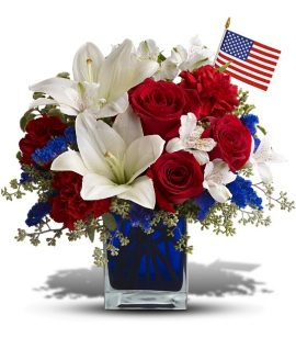 Image of Flowers or flower product titled America the Beautiful