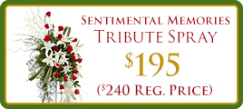 Sentimental Memories Flower Promo