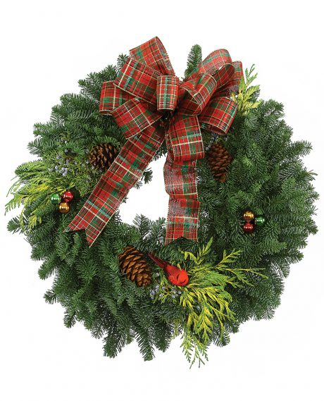 Image of Flowers or flower product titled Deluxe Wreath