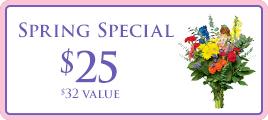 Spring Bouquet Promo