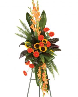 Image of Flowers or flower product titled Modern Autumn Easel