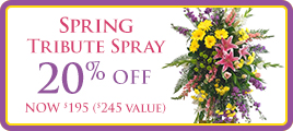 Spring Tribute Spray