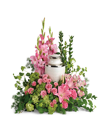 Image of Flowers or flower product titled Sacred Solace Cremation Tribute