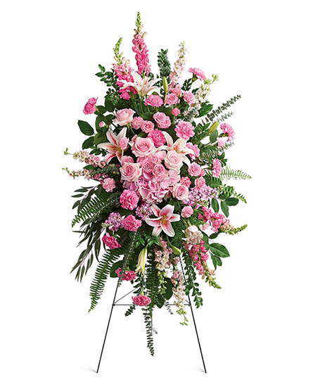 Image of Flowers or flower product titled Glorious Farewell Spray